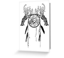 Dreamcatcher Catcher Greeting Card