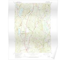Maine USGS Historical Map Gray 460452 1980 24000 Poster