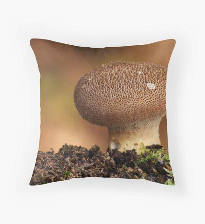 Dusky Puffball Throw Pillow