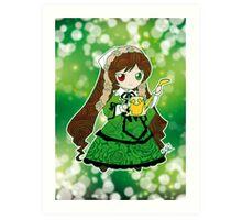 Chibi Suiseiseki Art Print