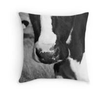 Cow nose Throw Pillow
