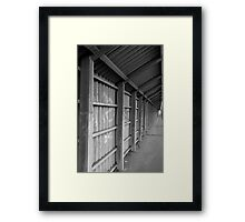 Covered Pedestrian Way Framed Print
