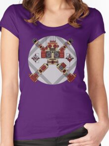 Robot Programme Update Women's Fitted Scoop T-Shirt