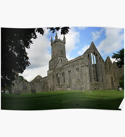 Ennis Friary ruins Poster