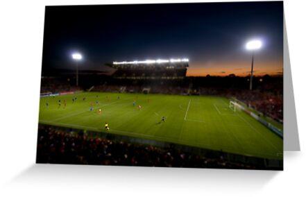 Hindmarsh Stadium by Matthew Reid