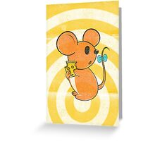 I got the Cheese,  but... Greeting Card