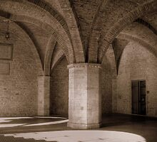 Fan vaulting in Todi by Dick Pountain
