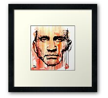 The fighter Framed Print