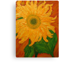 Sunflowers in the Desert Canvas Print