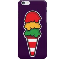 Traffic Cone Ice Cream iPhone Case/Skin