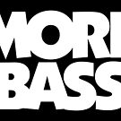 MORE BASS (White) by theshirtshops