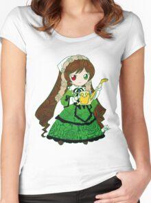 Chibi Suiseiseki Women's Fitted Scoop T-Shirt