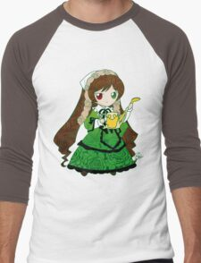 Chibi Suiseiseki Men's Baseball ¾ T-Shirt