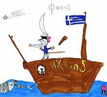 Captain Rat Sails Again by Fotis
