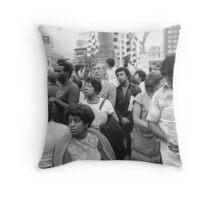 Union Square, SF, 1984 Throw Pillow