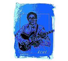 Blue 6 Photographic Print