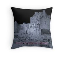 Time for the ghosts to walk at Halloween Throw Pillow