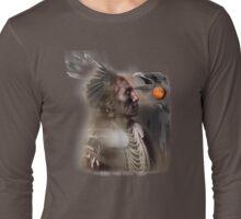 crow medicine man Long Sleeve T-Shirt