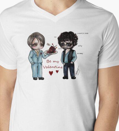 Hannibal: Be My Valentine Mens V-Neck T-Shirt