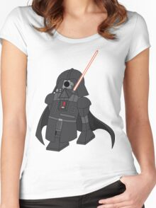 Darth2-D2 Women's Fitted Scoop T-Shirt