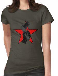 pistol grip pump Womens Fitted T-Shirt
