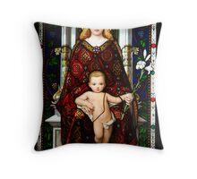 Mary & Jesus Throw Pillow