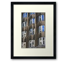 Bevelled Framed Print
