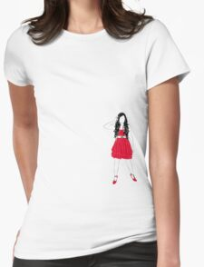 Girl in Red T-Shirt