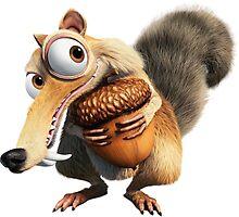 Ice Age Squirrel by Vitalia