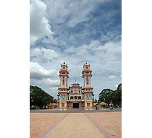 Cao Dai temple, Tây Ninh near Ho Chi Minh City, Vietnam Photographic Print