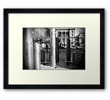 Street Decoration Framed Print
