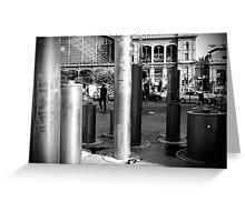 Street Decoration Greeting Card