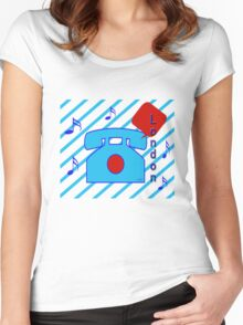 calling... Women's Fitted Scoop T-Shirt