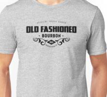 Sterling Draper Cooper  Old Fashioned Bourbon Black on White Unisex T-Shirt