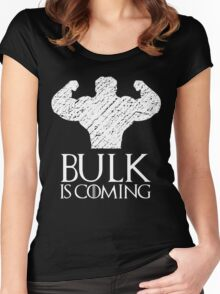 Bulk is coming Women's Fitted Scoop T-Shirt