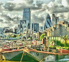 London on top - Enhanced by InterestingImag