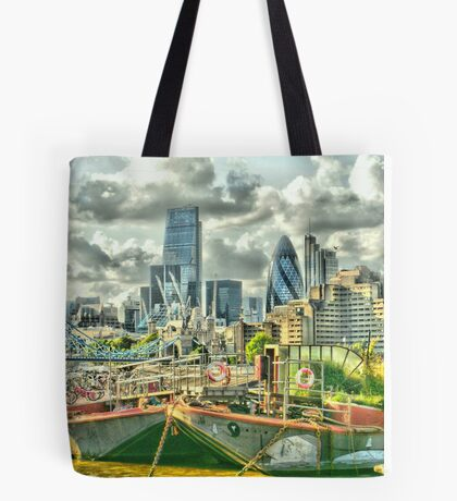London on top - Enhanced Tote Bag