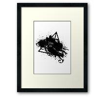 kiss my dementor Framed Print