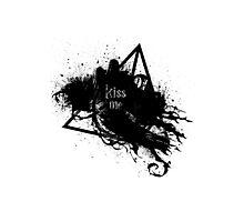 kiss my dementor Photographic Print