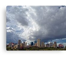 Capital City Storm Canvas Print