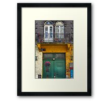 Don't Stop Here Framed Print