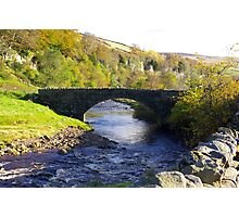 Stone Bridge at Keld,Yorkshire Dales. Photographic Print
