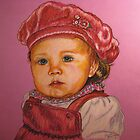 'Savannah'...A Little People Portrait by Susan Bergstrom