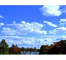 SKY, LAND, AND SEA Photographic Print