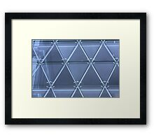 Shopping Mall Framed Print