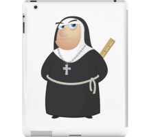Angry Nun iPad Case/Skin