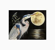 Moon Over Mississippi A Great Blue Herons Perspective Unisex T-Shirt