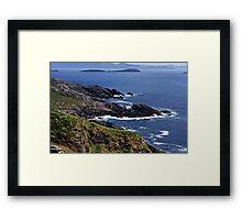 Atlantic Coast Ireland Framed Print