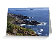 Atlantic Coast Ireland Greeting Card