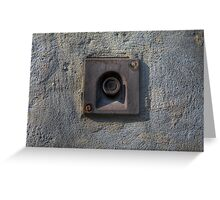 Forgotten Doorbell Greeting Card